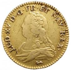 Louis XV  Louis d'Or aux lunettes