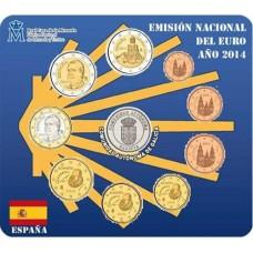 "Espagne 2014 - Coffret euro BU ""Galice"""