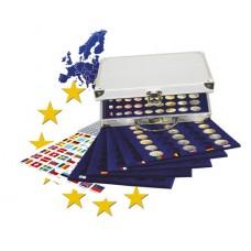 Mallette pour 30 séries de pièces Euro