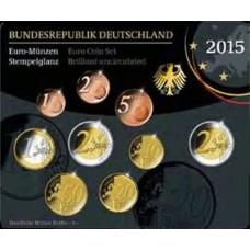 Allemagne 2015 - Coffret euro BU