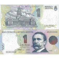 P.339 Argentine - Billet de 1 Peso