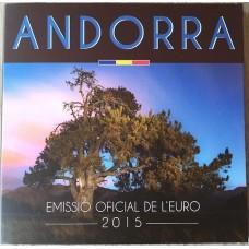 Andorre 2015 - Coffret BU