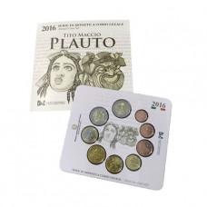 Italie 2016 - Coffret BU Euro Plaute
