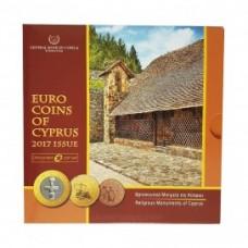 Chypre 2017 - Coffret Euro BU