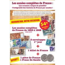 Les années complètes de France