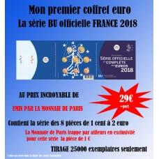 France 2018 - Coffret euro BU de la collection des Coffrets Brillant Universel