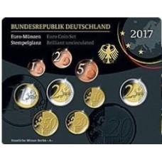 Allemagne 2017 - Coffret euro BU