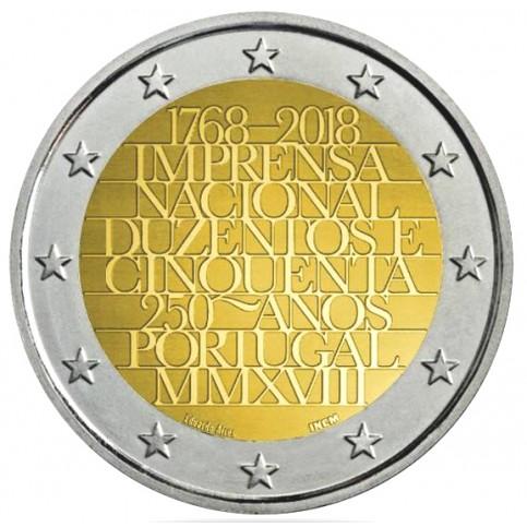 Slovénie 2018 - 2 euro commémorative Abeilles