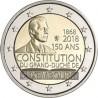 Luxembourg 2018 - 2 euro commémorative constitution