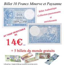 10 Francs Minerve et Paysanne