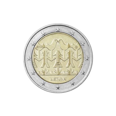 Lituanie 2018 - 2 euro commémorative danse