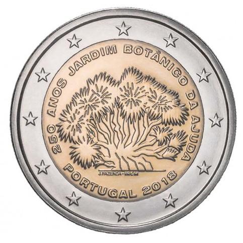 Portugal  2018 - 2 euro commémorative Jardin