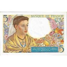 5 FRANCS - Berger et Femme Coiffee - 1943-1947 - Etat SUP