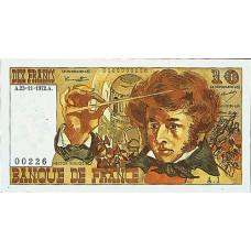 10 FRANCS - Berlioz - 1972-1978 - Etat TTB