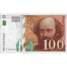 100 FRANCS - CEZANNE - 1997 - Etat TTB