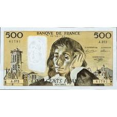 500 FRANCS - PASCAL - 1968-1993 - Etat SUP