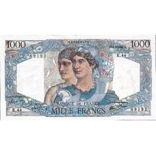 1000 FRANCS - Minerve et Hercule - 1945-1950 - Etat TTB
