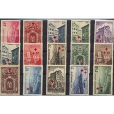 MONACO ANNEE COMPLETE NEUVE 1940