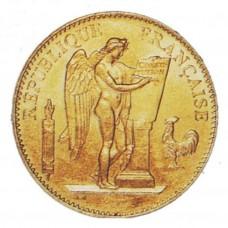 GENIE  - 1878/1899 - 100 FRANCS OR