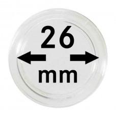10 Capsules pour pieces de 2 euros