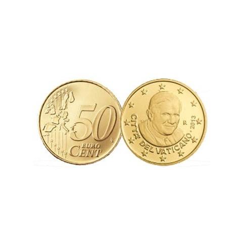 Vatican 2013 Benoit XVI - 50 Cents