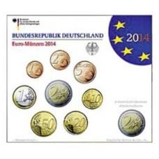 Allemagne 2014 - Coffret euro BU