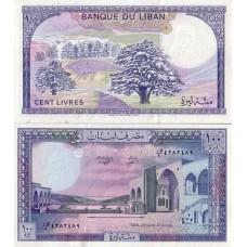 P.66 Liban - Billet de 100 Livres