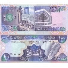 P.69 Liban - Billet de 1000 Livres