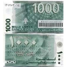 P.84 liban - Billet de 1000 livres